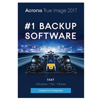 Acronis True Image 2017 - 5 Computers