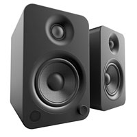 Kanto Living YU4 2-Way Powered Bookshelf Speakers - Onyx