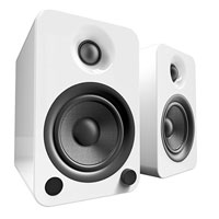 Kanto Living YU4 2-Way Powered Bookshelf Speakers - Ice