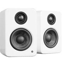 "Kanto YU3 4"" 2-Way Powered Bookshelf Speakers with aptX Bluetooth 4.0 - Matte White"