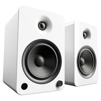 Kanto Living YU6 2-Way Powered Bookshelf Speakers - Pure