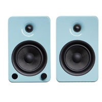 Kanto YU5 Powered Bookshelf Gloss Speakers with aptX Bluetooth Teal
