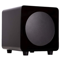 "Kanto Living sub6 100W 6"" Active Subwoofer - Gloss Black"