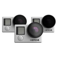 PolarPro Frame 2.0-FPV Quadcopter Filter 3-Pack for GoPro HERO3 / HERO3+/ HERO4