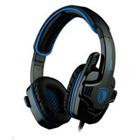 Sades SA-708 Gaming Headset - Blue