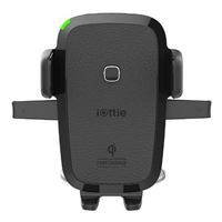 iOttie 1 Touch Suction Mount Phone Holder w/ Qi Wireless Fast Charging - Black