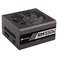 Corsair RM550x 550 Watt 80 Plus Gold ATX Modular Power Supply 2018