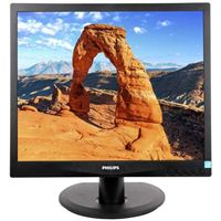 "Philips 17S4LSB 17"" SXGA 60Hz VGA DVI LED Monitor"