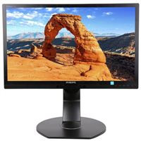 "Philips 221B6QPYEB 21.5"" Full HD 60Hz VGA DVI DP LED Monitor"