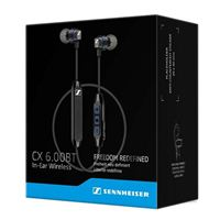 Sennheiser CX 6.00BT Wireless In-Ear Headphones - Black