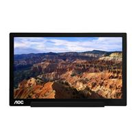 "AOC i1601fwux 16"" Class USB Type-C Powered IPS Full HD Portable Monitor"