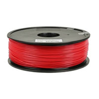 Inland 1.75mm Red PETG 3D Printer Filament - 1kg Spool (2.2 lbs)