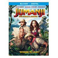Columbia Tristar Jumanji: Welcome to the Jungle BLU-RAY