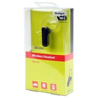 Straight Talk Mono Wireless Bluetooth Headset Earpiece Headphones - Black
