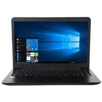 "ASUS R417NA-RS01 14"" Laptop Computer Refurbished - Blue"