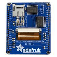 "Adafruit Industries 2.4"" TFT LCD with Touchscreen Breakout w/MicroSD Socket"
