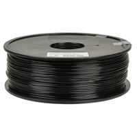 Inland Premium 1.75mm Black PLA+ 3D Printer Filament - 1kg Spool (2.2 lbs)
