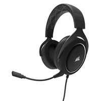 Corsair HS60 Surround Sound Gaming Headset - Black/White