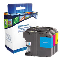 Dataproducts Remanufactured CMY Inkjet Cartridges LC203C