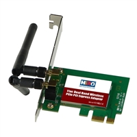 HiRO AC1200 Dual Band Wireless WiFi PCIe Adapter