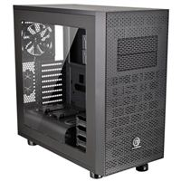 Thermaltake Core X31 Blue LED Tempered Glass ATX Mid-Tower Computer Case - Black