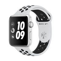 Apple Watch Series 3 Nike+ GPS 42mm Silver Aluminum Smartwatch - Platinum/Black Sport Band