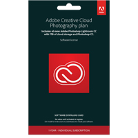 Adobe Creative Cloud Photography Plan 1TB
