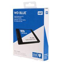 """WD Blue PC 250GB SATA III 6Gb/s 2.5"""" Internal Solid State Drive"""