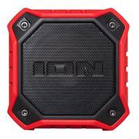 ION Audio DUNK Compact IP67 Waterproof Wireless Speaker - Red