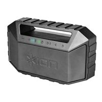 ION Audio PLUNGE Waterproof Portable Boombox - Black