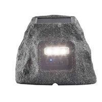 ION Audio Solar Stone Glow All-Weather Wireless Speaker - Gray