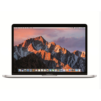 "Apple MacBook Pro with Touch Bar APZ0T50005Y 15.4"" Laptop Computer - Silver"