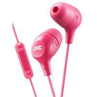 JVC Marshmallow Inner Ear Headphones - Pink