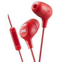 JVC Marshmallow Inner Ear Headphones - Red