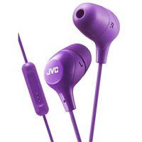 JVC Marshmallow Inner Ear Headphones - Violet