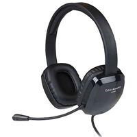 Cyber Acoustics USB Stereo Headset - Black
