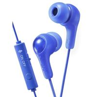 JVC Gumy Gamer Inner Ear Headphones - Blue