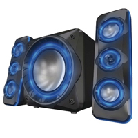 Curtis Circulation Lightup Bluetooth 2.1 Speaker System