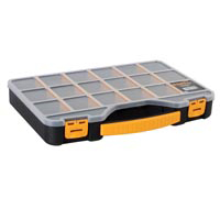Velleman 18 in. Storage Box with Handle - Black