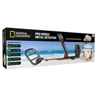 Discover with Dr. Cool National Geographic Pro Series Metal Detector