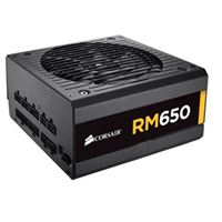 Corsair RM650 650 Watt 80 Plus Gold ATX Modular Power Supply Refurbished