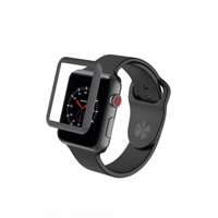 Zagg Glass Luxe Screen Protector for Apple Watch Series 3 42mm  - Space Gray