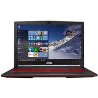 """MSI GL63 15.6"""" Gaming Laptop Computer - Black"""
