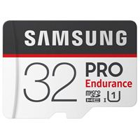 Samsung 32GB PRO Endurance Class 10 microSDHC Memory Card with SD Adapter