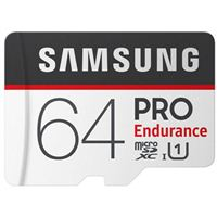 Samsung 64GB PRO Endurance microSDXC Memory Card with SD Adapter