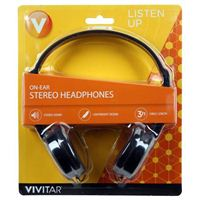 Vivitar Listen Up Headphones - Black