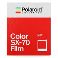 Polaroid Color Film for SX-70 - 8 Exposures