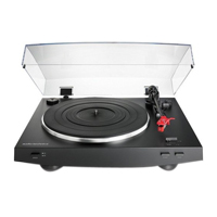 Audio-Technica Consumer AT-LP3 Stereo Turntable - Black