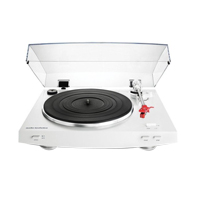Audio-Technica Consumer AT-LP3 Stereo Turntable - White