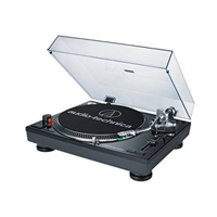 Audio-Technica Consumer AT-LP120USB Direct Drive Professional DJ Turntable with USB Output - Black